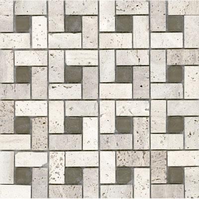 Elida ceramica elida glass mosaic tumbled eye for Tumbled glass tile