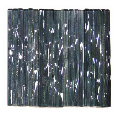 Elida Ceramica Murano Transparent 3 x 12 Black Diamond ELICS312C5T