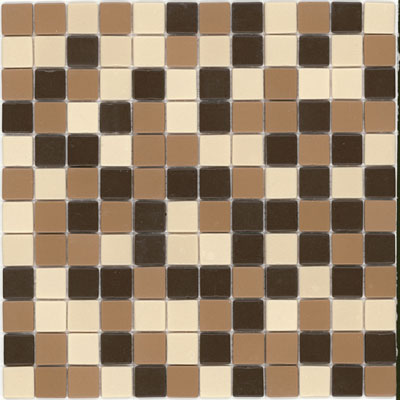 Elida Ceramica Recycled Glass Earth Mosaic Camel ELIEK416