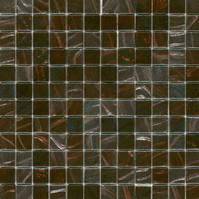 Elida Ceramica Recycled Glass Earth Mosaic Copper Leaf ELIEK404