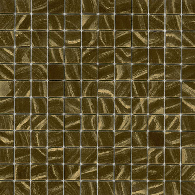 Elida Ceramica Recycled Glass Earth Mosaic Golden Ore ELIEK405