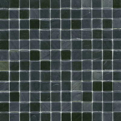 Elida Ceramica Recycled Glass Earth Mosaic Gun Metal ELIEK406