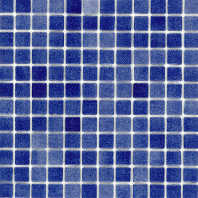 Elida Ceramica Recycled Glass Ice Mosaic Non Skid Deep Blue ELIEK149