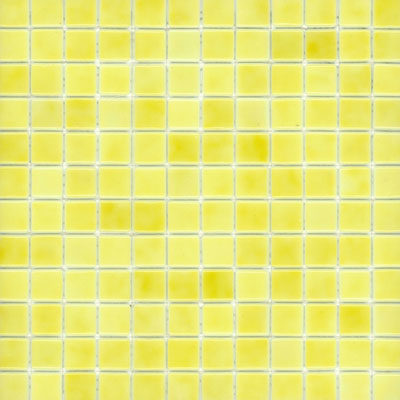 Elida Ceramica Recycled Glass Ice Mosaic Old Yellow ELIEK140