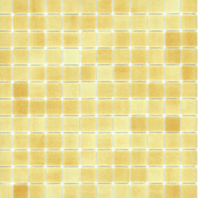 Elida Ceramica Recycled Glass Ice Mosaic Peanut Butter ELIEK105