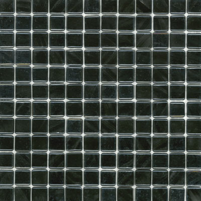 Elida Ceramica Recycled Glass Water Mosaic Black Pearl ELIEK203