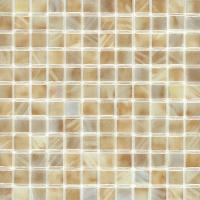 Elida Ceramica Recycled Glass Water Mosaic Coconut ELIEK207
