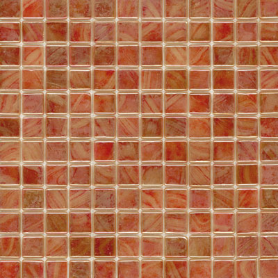 Elida Ceramica Recycled Glass Water Mosaic Coral ELIEK216