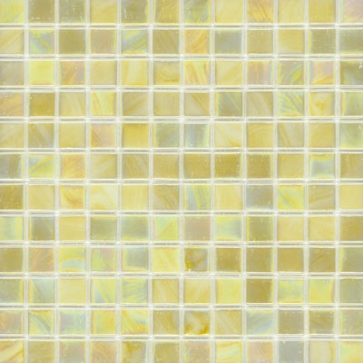 Elida Ceramica Recycled Glass Water Mosaic Lemonade ELIEK205