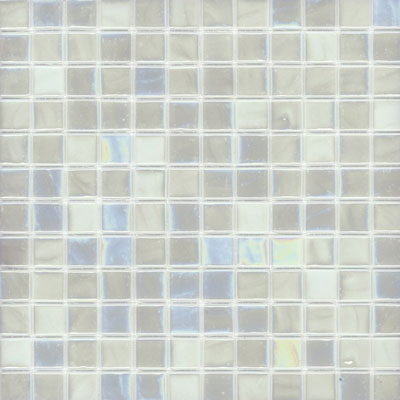 Elida Ceramica Recycled Glass Water Mosaic Oyster ELIEK204