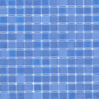 Elida Ceramica Recycled Glass Water Mosaic Periwinkle ELIEK210