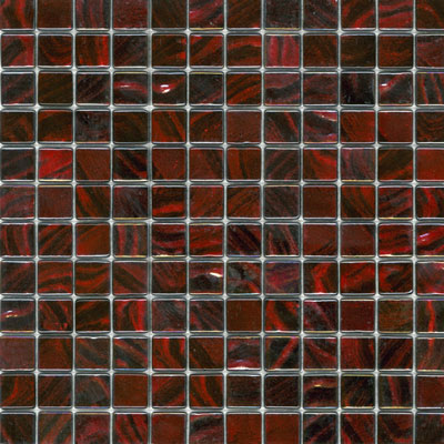 Elida Ceramica Recycled Glass Water Mosaic Promegranite ELIEK209