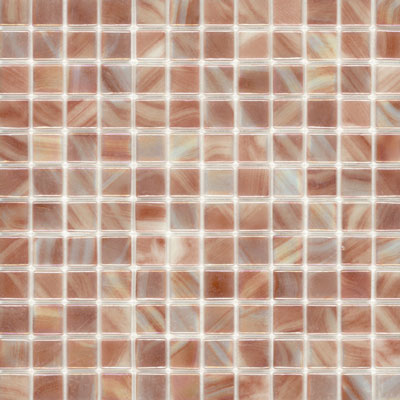 Elida Ceramica Recycled Glass Water Mosaic Soft Rose ELIEK208