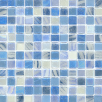 Elida Ceramica Recycled Glass Wind Mosaic Cold Winter ELIEK309