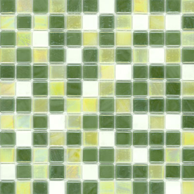 Elida Ceramica Recycled Glass Wind Mosaic Grass ELIEK303