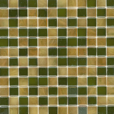 Elida Ceramica Recycled Glass Wind Mosaic Mohave Gold ELIEK310