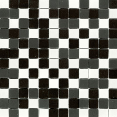 Elida Ceramica Recycled Glass Wind Mosaic Panda ELIEK312