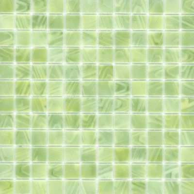 Elida Ceramica Recycled Glass Wind Mosaic Soft Green ELIEK314