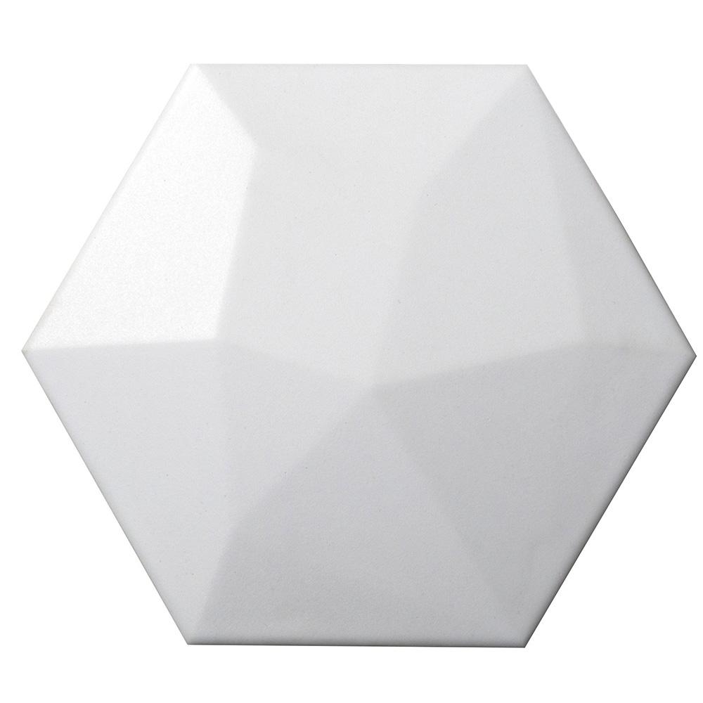 Emser Tile Code Hexagon High White Hex