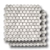 Marble Hexagon Mosaic Honed