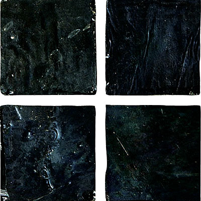 Emser Tile Opalesque Glass Mosaic Nero