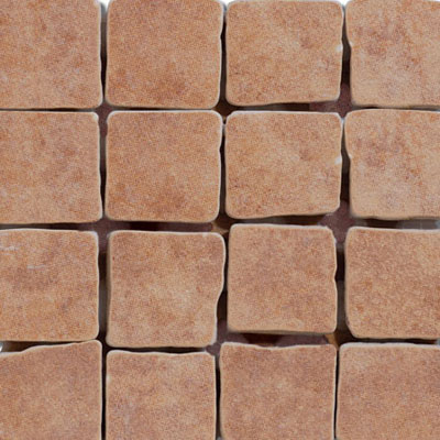 Emser Tile Paradiso Mosaic 1 x 1 Terracotta F72PARATE1212MO