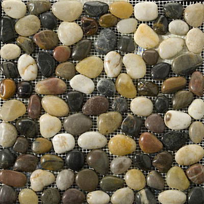 Emser Tile Rivera Pebble - Flat Rivera Pebble 4 Color Blend