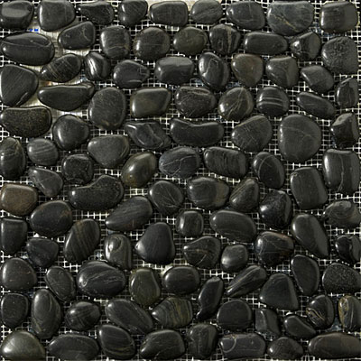 Emser Tile Rivera Pebble - Flat Rivera Pebble Black