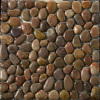 Emser Tile Rivera Pebble - Flat Rivera Pebble Terra Cotta