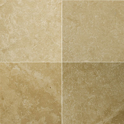 Emser Tile Travertine Filled & Polished 18 x 18 Astoria Beige