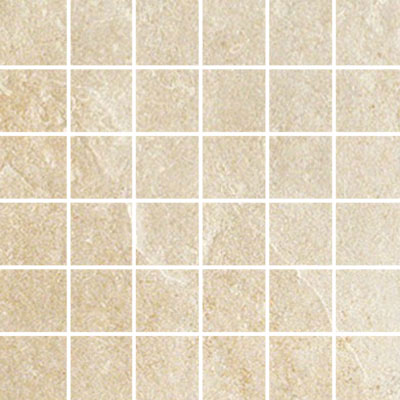 Ergon Tile Green Tech Mosaic Rectified Ivory ERG I30451R