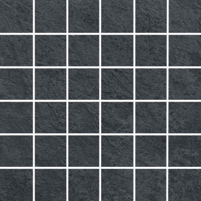 Ergon Tile Kyoto Mosaic Rectified Antracite ERG I30S59R