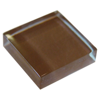 Diamond Tech Glass Dimension Mosaic 1 x 2 Brown T466