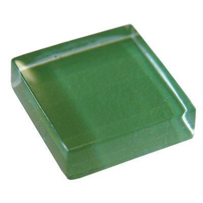 Diamond Tech Glass Dimension Mosaic 1 x 2 Green T463