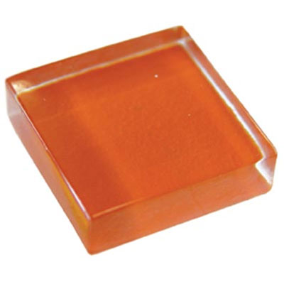 Diamond Tech Glass Dimension Mosaic 1 x 2 Orange T493
