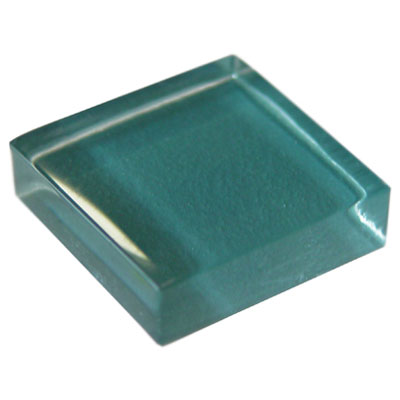 Diamond Tech Glass Dimension Mosaic 1 x 2 Teal 2 T464