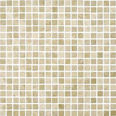 Florida Tile Pietra Art Mexican Travertine Mosaic Desert Cream Mosaic 90333
