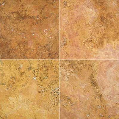 Florida Tile Pietra Art Mexican Travertine 12 x 12 Amber 90379