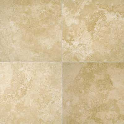 Florida Tile Pietra Art Mexican Travertine 16 x 16 Desert Cream 90333