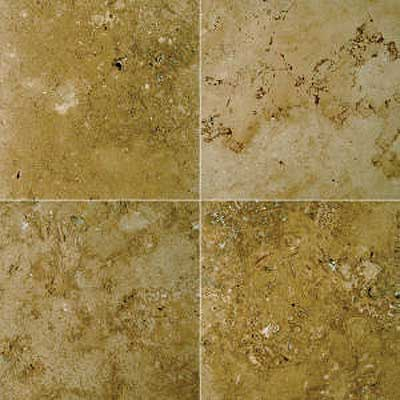 Florida Tile Pietra Art Mexican Travertine 16 x 16 Noce 90325