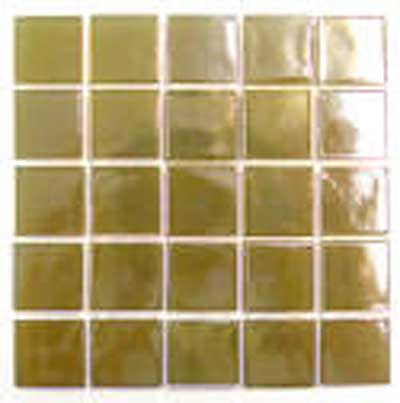 Florida Tile Platinum Glass Mosaic Beige T404