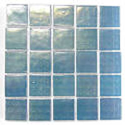 Florida Tile Platinum Glass Mosaic Blue Mist T413