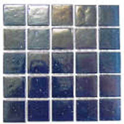 Florida Tile Platinum Glass Mosaic Blue T415