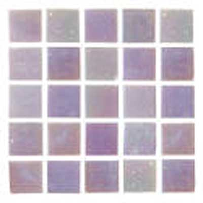 Florida Tile Platinum Glass Mosaic Fog Mist T409