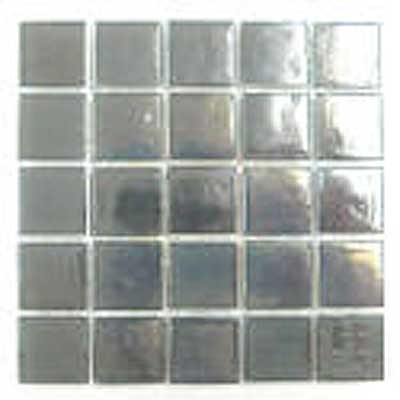 Florida Tile Platinum Glass Mosaic Gray T402