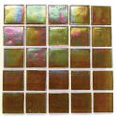 Florida Tile Platinum Glass Mosaic Honey Mist T405