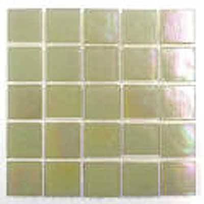 Florida Tile Platinum Glass Mosaic Light Beige T403