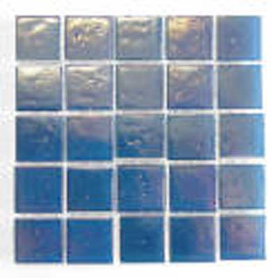 Florida Tile Platinum Glass Mosaic Light Blue T414