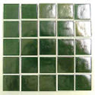 Florida Tile Platinum Glass Mosaic Light Green T411