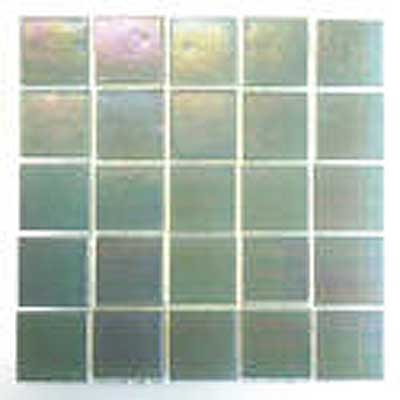 Florida Tile Platinum Glass Mosaic Snow Mist T401
